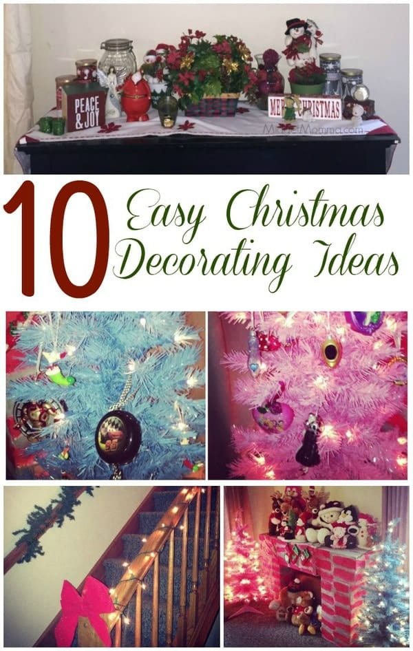 10 easy christmas decorating ideas
