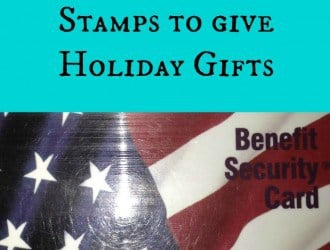 How to Use Food Stamps to give Holiday Gifts