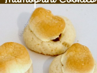 Smores Thumbprint Cookies. Easy to make Smores Thumbprint Cookies. These Smores Thumbprint Cookies are great for holiday cookie baking.