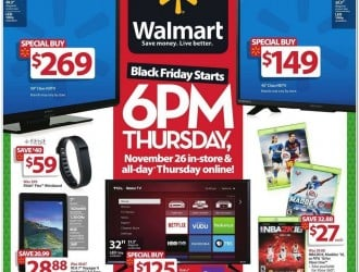 Walmart Black Friday Ad 2015