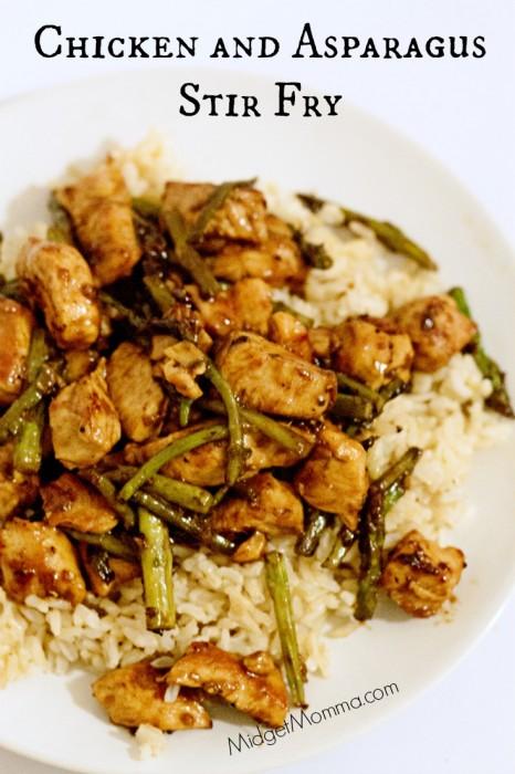 chicken asparagus stir fry ingredients 1 1 2 pounds chicken breast ...