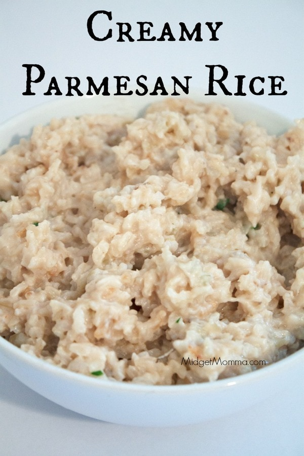 Creamy Parmesan Rice Midgetmomma