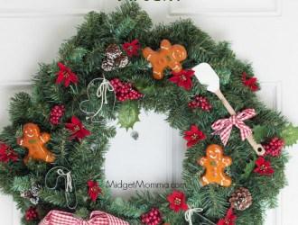 DIY Christmas Baker Wreath