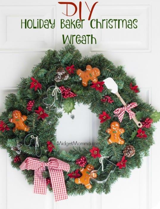 Holiday Baker Christmas Wreath