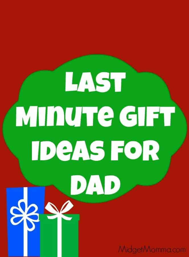 sc 1 st  Midget Momma & Last Minute Gift Ideas for Dad