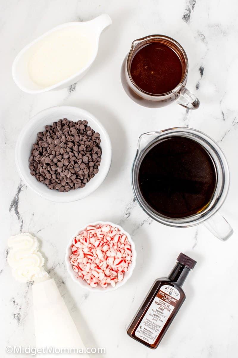 Peppermint Mocha Coffee ingredients