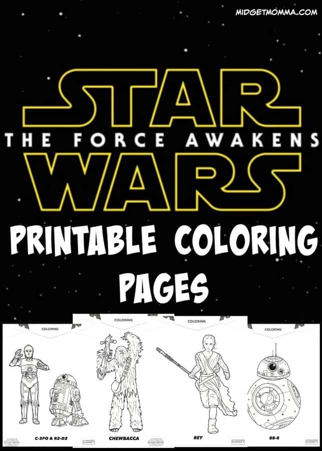 Star Wars Force Awakens Printable
