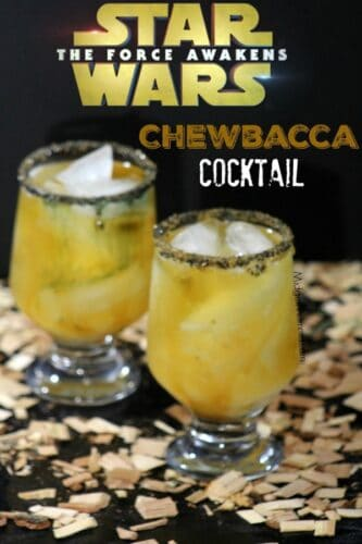 Chewbacca cocktail Star Wars Inspired Drink. This Chewbacca cocktail (Star Wars Inspired Drink) is perfect for the adults! Star Wars drink, Star Wars food, Star Wars party drink, star wars hot chocolate, star wars character drink.
