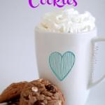 Hot Chocolate Cookies. The amazing taste of hot chocolate in a cookie with these amazing Hot Chocolate Cookies