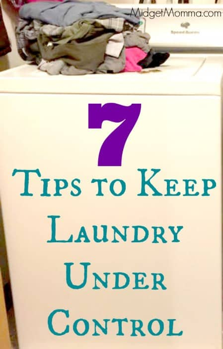 Keep Laundry Under Control