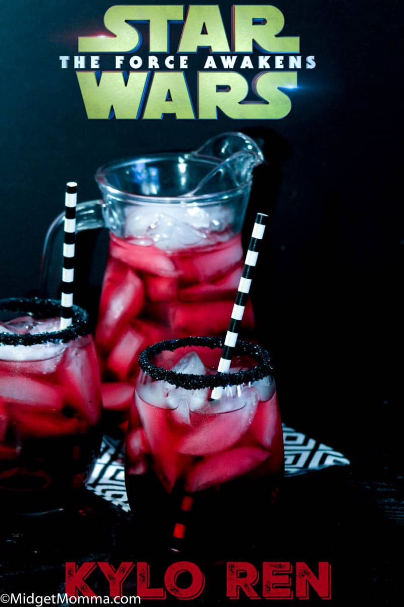 Kylo Ren Party drink