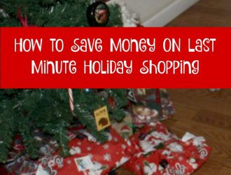 How to Save Money when doing Last Minute Holiday Shopping online