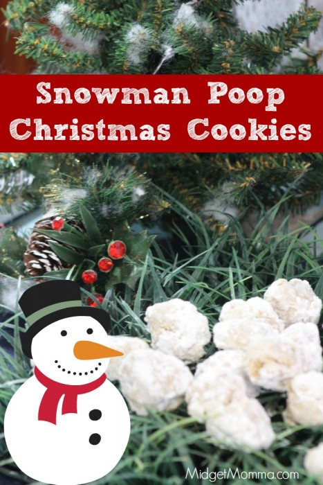 Snowman Poop Christmas cookies. Tasty Christmas cookies that the kids will love. Have fun with these Snowman Poop Christmas cookies and make the kids smile.