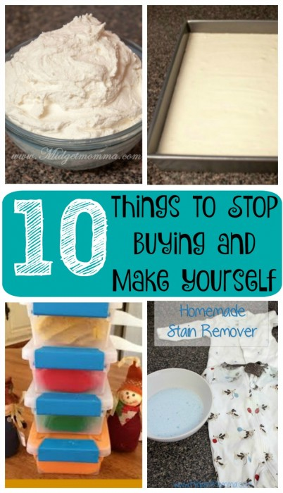 things to Stop Buying and Make Yourself