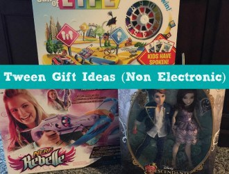 Tween Gift Ideas (Non Electronic)