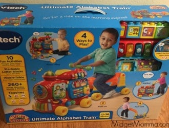 Ride Along With Vtech This Holiday Season- Gifts Ideas for the Toddlers!