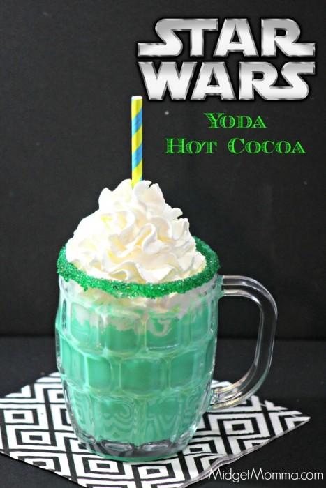 Star Wars Inspired Yoda Hot Chocolate