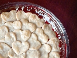 2 Ingredient Cherry Pie (Anyone can make it!)