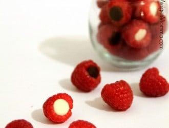 Chocolate Raspberry Bites