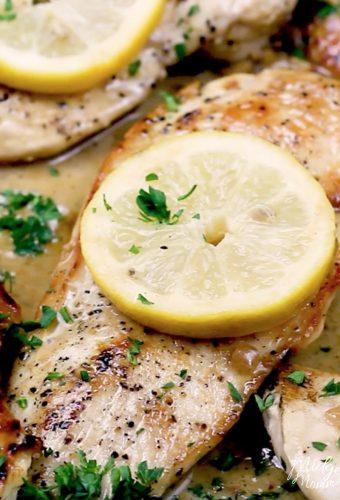 Lemon Garlic One Pan Chicken
