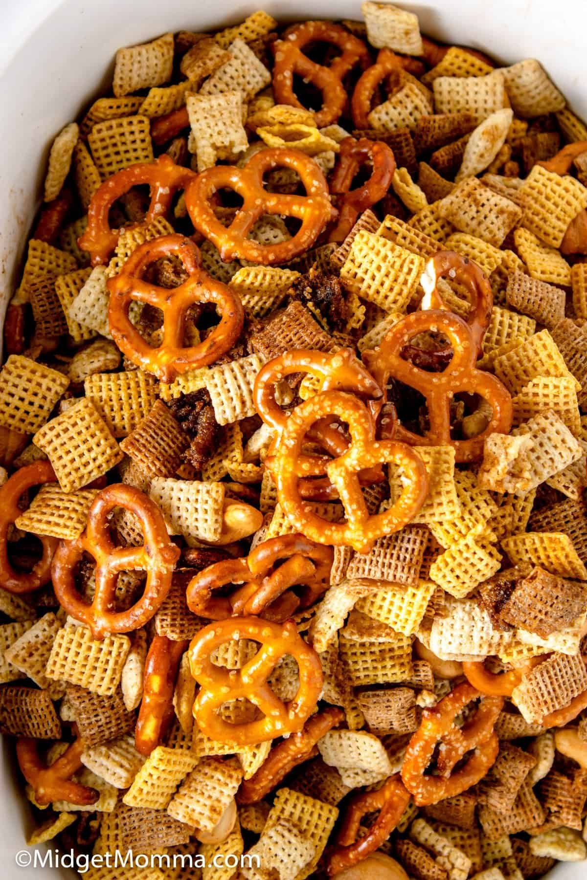 Slow Cooker Chex Snack Mix