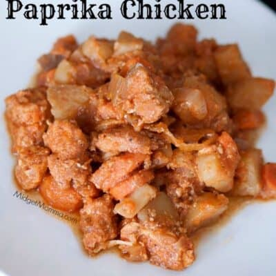 Slow Cooker Paprika Chicken. Amazing flavor that is bold and tasty right from the crockpot with very little work. Serve with salad and fresh bread.Slow Cooker Paprika Chicken. Amazing flavor that is bold and tasty right from the crockpot with very little work.