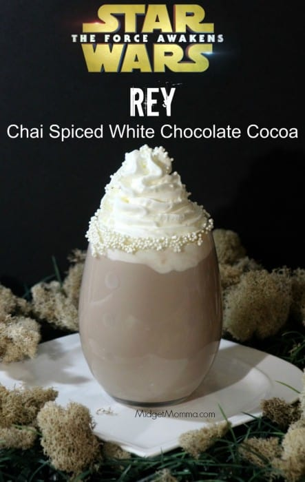 Chai Spiced White Chocolate Cocoa. Star Wars inspired Chai Spiced White Chocolate Cocoa. Easy to make and everyone will love it.