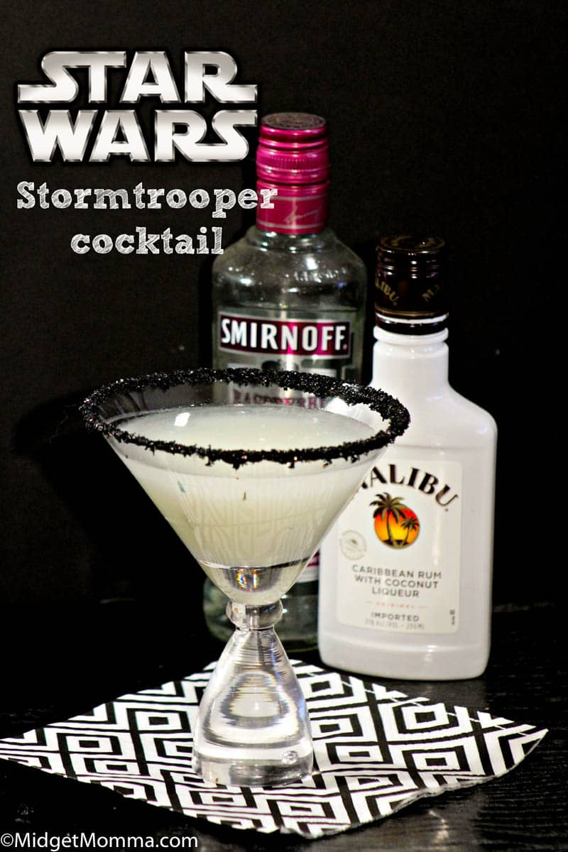 Storm Trooper Raspberry Coconut Cocktail