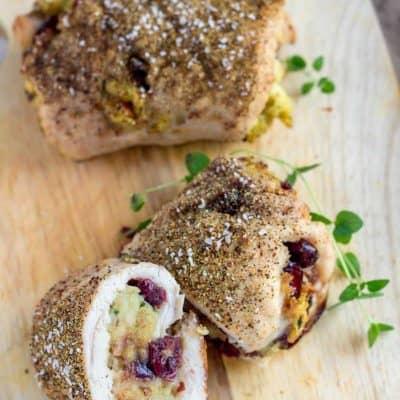 Turkey Dinner Roll Up