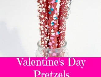 Chocolate Pretzel Rods are an Easy Valentine's Day sweet treat. Chocolate Pretzel Rods look amazing and taste even better then they look.