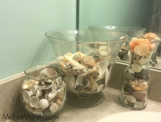 Putting the Finishing touches on the Bathroom with Dollar General Home Decor