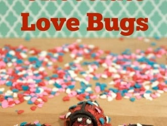 Fruit Love Bugs | Fruit and Chocolate Valentine's Day Kids Treat
