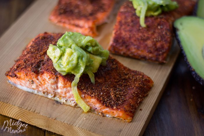 grilled salmon rub