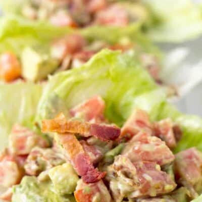 Avocado BLT Lettuce Wraps