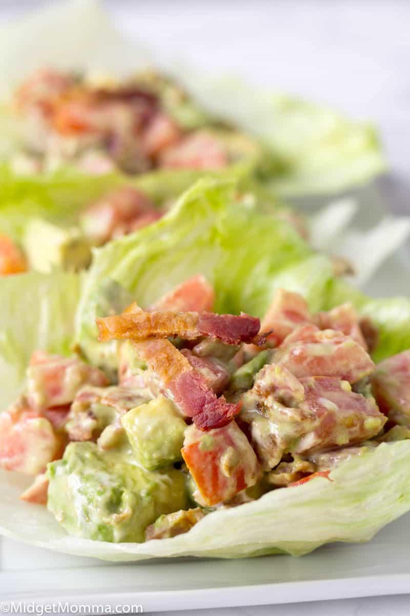 Avocado BLT Lettuce Wraps