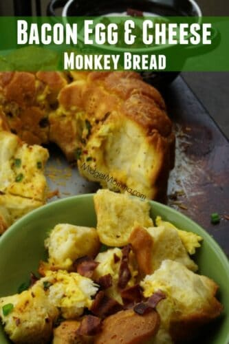 Bacon Egg Cheese Monkey Bread Easy Breakfast
