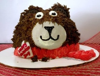 Baskin-Robbins Teddy Bear Cake For Valentine's Day (Shh it's a Surprise!)