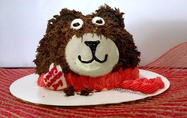 Baskin-Robbins Teddy Bear Cake