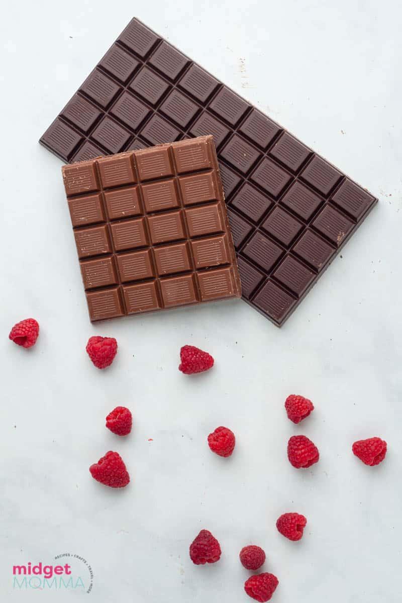 Chocolate Covered Raspberries ingredients