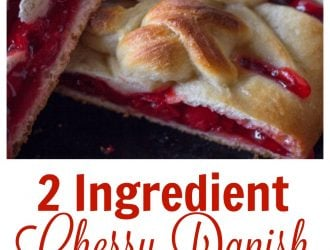 2 Ingredient Cherry Danish