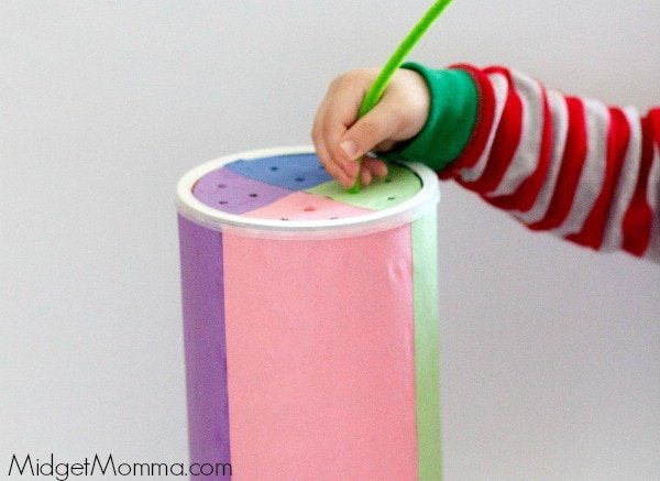 Pipe Cleaner Sorter Kids Activity for kids