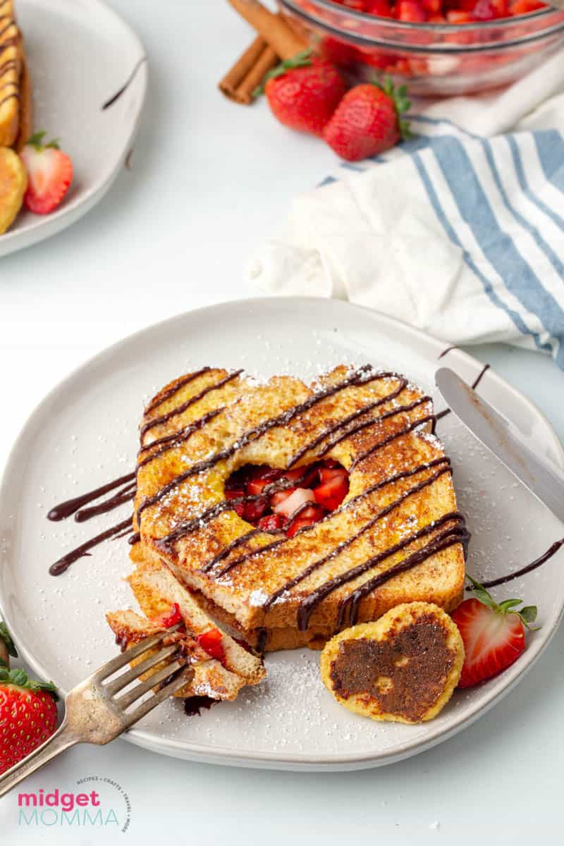 Chocolate Strawberry French Toast