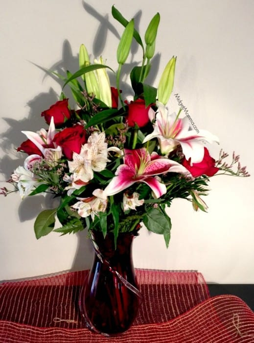 Valentine's Day flower bouquets from Teleflora