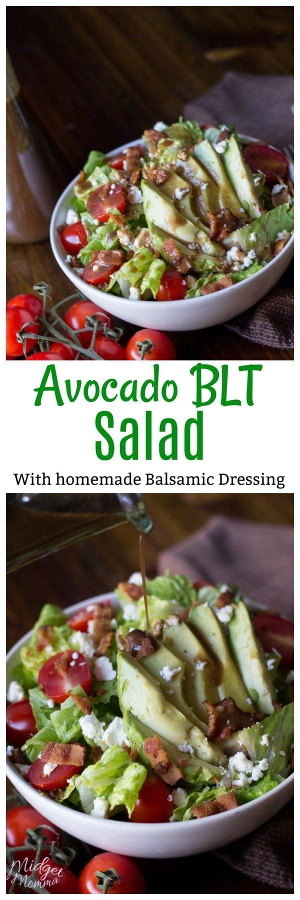 Avocado Blt Salad Midgetmomma