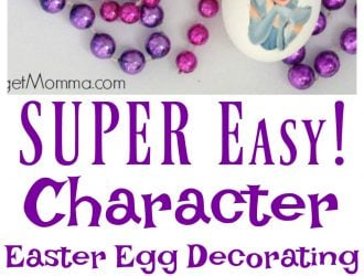 Character Easter Egg decorating