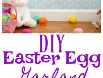 DIY Easter Egg Garland