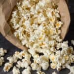 easy homemade popcorn in the microwave