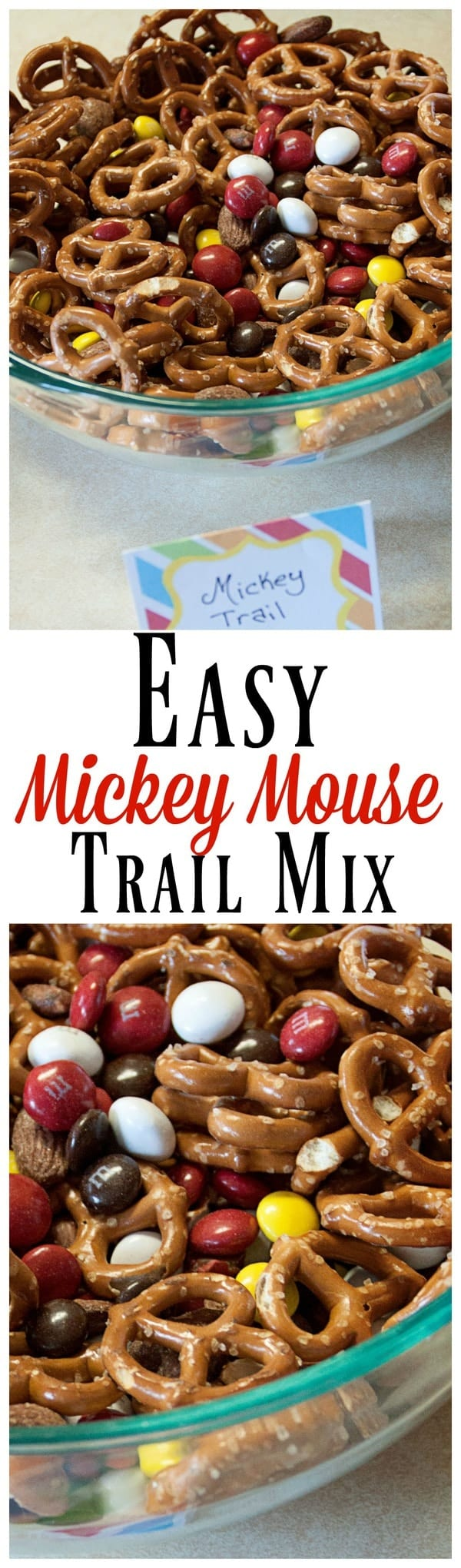 Mickey Mouse Trail Mix Midgetmomma