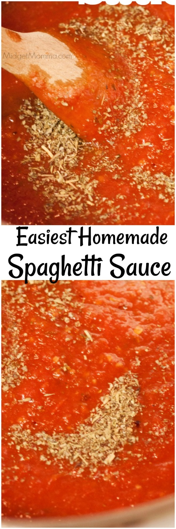 Homemade Spaghetti Sauce is easy to make, once you learn how you will never go back to buying sauce.With fresh ingredients and a few minutes its done. You can add meat to this homemade pasta sauce if you want to, just make sure you cook the meat before adding it to this easy to make spaghetti sauce recipe.