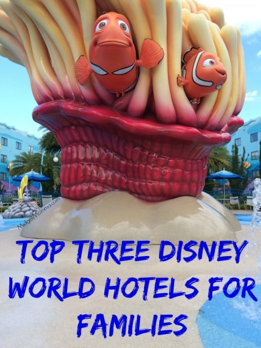 Top Three Disney World Hotels for Families